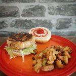 Turkey & Halloumi Burger