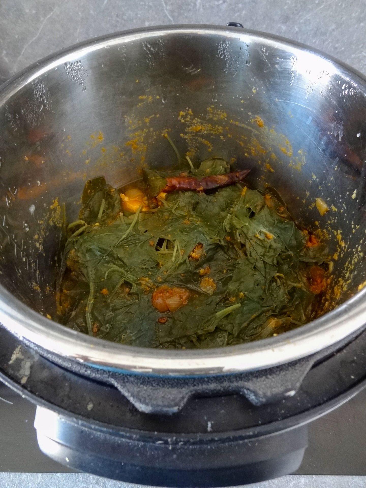 Instant Pot version after natural release